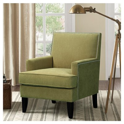 Maultsby Armchair Upholstery: Green