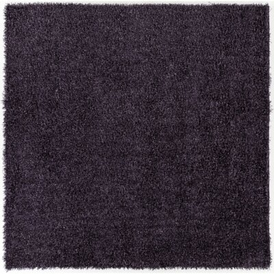Mchaney Hand-Tufted Purple Area Rug Rug Size: Square 8