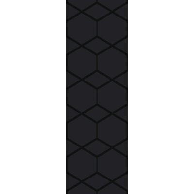 Mcnulty Hand-Loomed Black Area Rug Rug Size: Runner 26 x 8