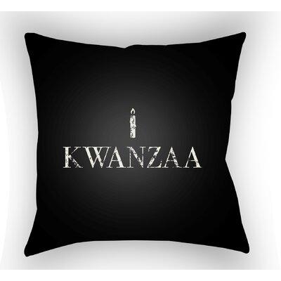 Massie Kwanzaa Indoor/Outdoor Throw Pillow Size: 20 H x 20 W x 4 D, Color: Black