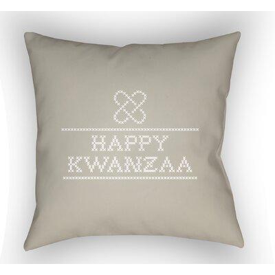 Masten Kwanzaa II Indoor/Outdoor Throw Pillow Color: Neutral, Size: 20 H x 20 W x 4 D