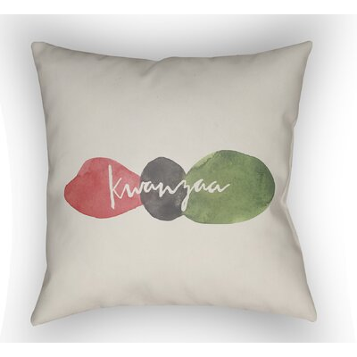 Maston Kwanzaa III Indoor/Outdoor Throw Pillow Size: 20 H x 20 W x 4 D