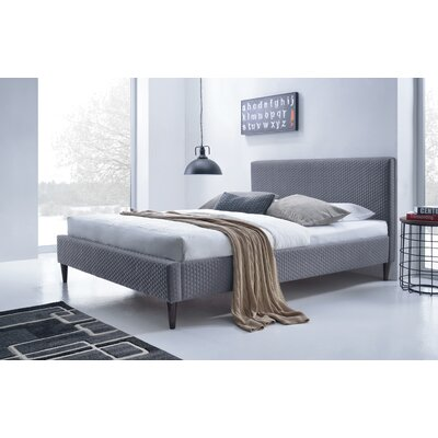 Mueller Upholstered Platform Bed Size: King