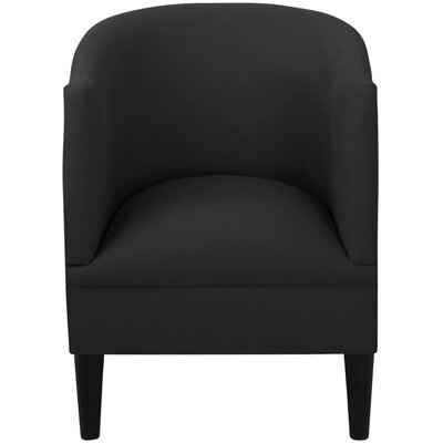 Whiteway Barrel Chair Upholstery: Duck Black