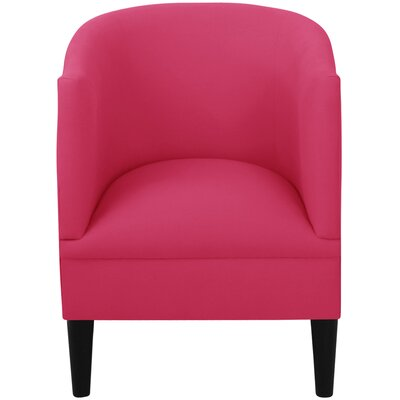 Whiteway Barrel Chair Upholstery: Duck French Pink