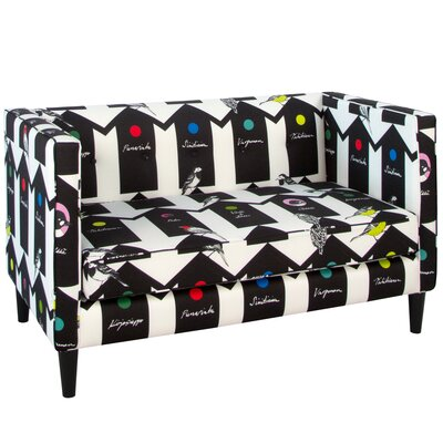 Meister Birdhouse Five Button Loveseat