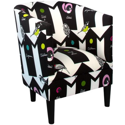 Whiteway Barrel Chair Upholstery: Bird House