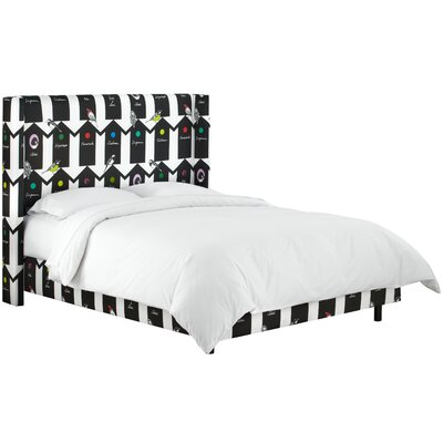 Meister Upholstered Panel Bed Size: King