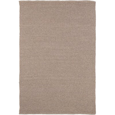 Woolverton Hand Woven Beige Indoor/Outdoor Area Rug Rug Size: Rectangle 4 x 6