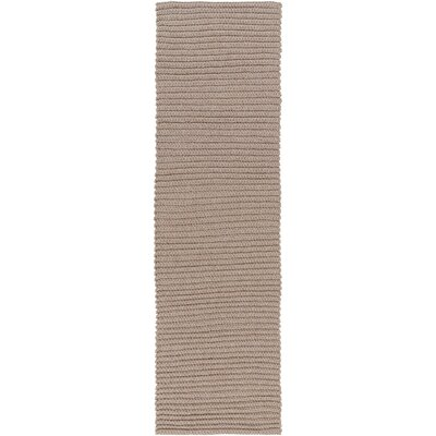 Woolverton Hand Woven Beige Indoor/Outdoor Area Rug Rug Size: Runner 2'6
