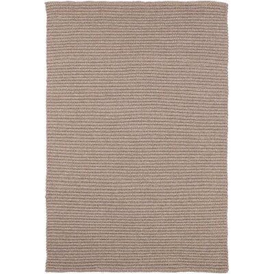 Woolverton Hand Woven Beige Indoor/Outdoor Area Rug Rug Size: 4 x 6
