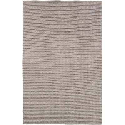 Woolverton Hand Woven Gray Indoor/Outdoor Area Rug Rug Size: Rectangle 5 x 76