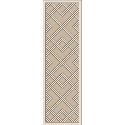 Mare Hand Woven Gray Area Rug Rug Size: Runner 26 x 8