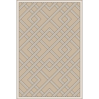 Mare Hand Woven Gray Area Rug Rug Size: 6 x 9