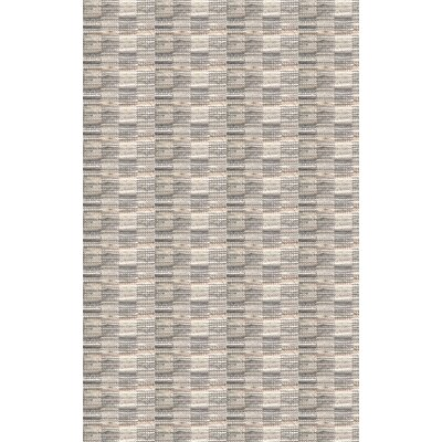 Meister Hand Woven Gray Area Rug Rug Size: 4 x 6