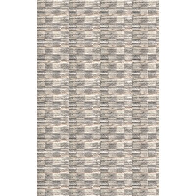Meister Hand Woven Gray Area Rug Rug Size: 5 x 76