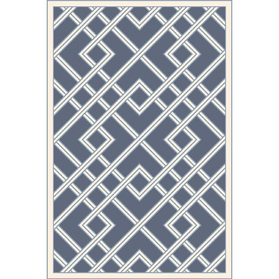 Mare Hand Woven Blue Area Rug Rug Size: 8 x 10