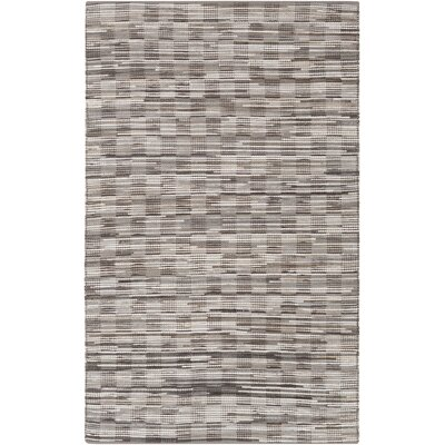 Hand Woven Brown/Gray Area Rug Rug Size: 4 x 6