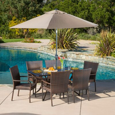 Lawhon 7 Piece Dining Set