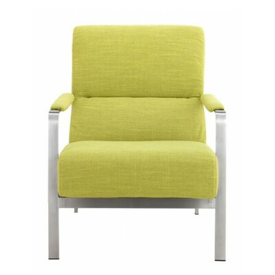 Mooring Armchair Upholstery: Lime