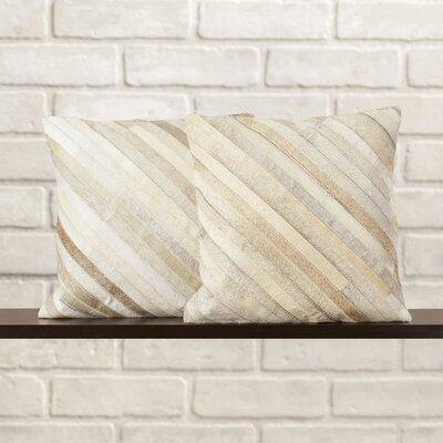 Whitchurch Throw Pillow Size: 22 H x 22 W, Color: Grey