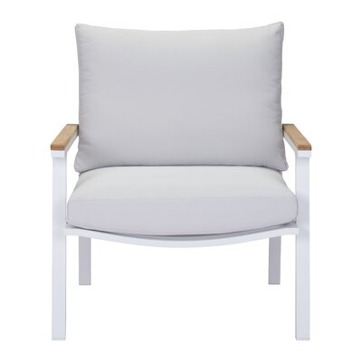 Gess Armchair Color: Light Gray