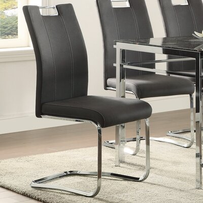 Mcmorris Side Chair (Set of 2) Upholstery: Gray