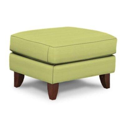 Bencomo Ottoman Upholstery: Pear Spree Indigo