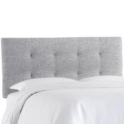 Castellon Tufted Upholstered Panel Headboard Size: Queen, Upholstery: Pumice