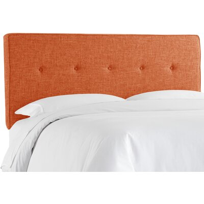 Cambra Tufted  Upholstered Panel Headboard Size: Twin, Upholstery: Zuma Atomic