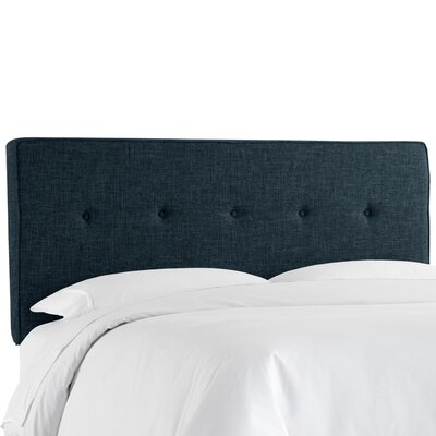 Cambra Tufted  Upholstered Panel Headboard Size: Full, Upholstery: Zuma Navy