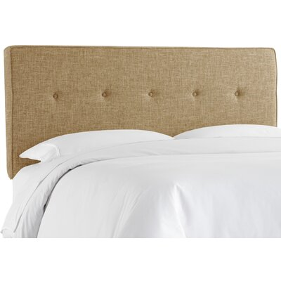 Antonelli Tufted Upholstered Panel Headboard Size: Queen