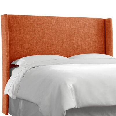 Dilbeck  Upholstered Wingback Headboard Size: California King, Upholstery: Zuma Atomic