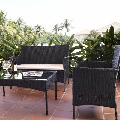 4-Piece Nancy Patio Seating Group