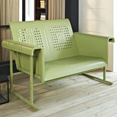 Deemer Loveseat Finish: Oasis Green