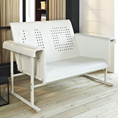 Deemer Loveseat Finish: Alabaster White