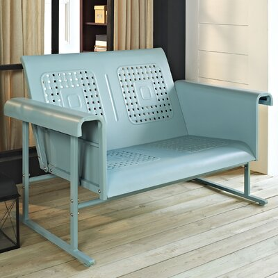 Deemer Loveseat Finish: Caribbean Blue