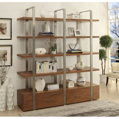 Clyne Accent Shelves Bookcase Product Photo
