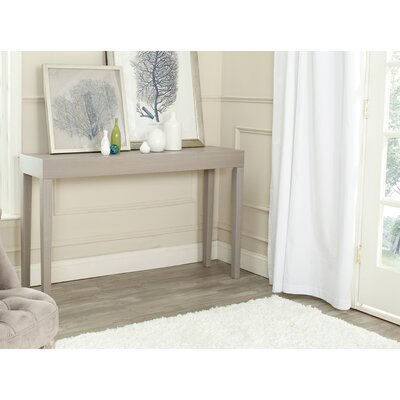 Kadyn Console Table Finish: Grey