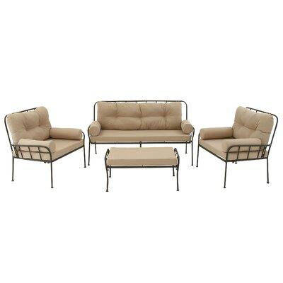4-Piece Carlita Patio Seating Group