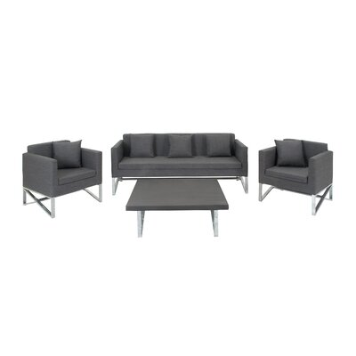 Hogle 4 Piece Living Room Set