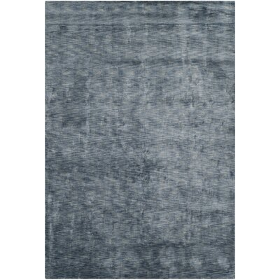 Kovac Hand-Knotted Blue Area Rug Rug Size: Rectangle 9 x 12