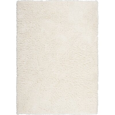 Vandiver Hand-Tufted Ivory Area Rug Rug Size: Rectangle 76 x 96