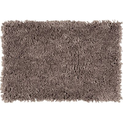 Mowrey Hand-Tufted Mocha Area Rug Rug Size: Rectangle 79 x 99