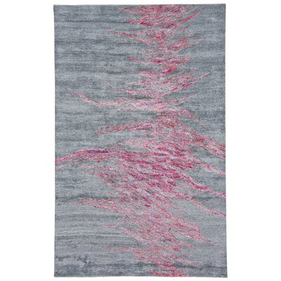 Griffin Hand-Tufted Galaxy Area Rug Rug Size: 73 x 93