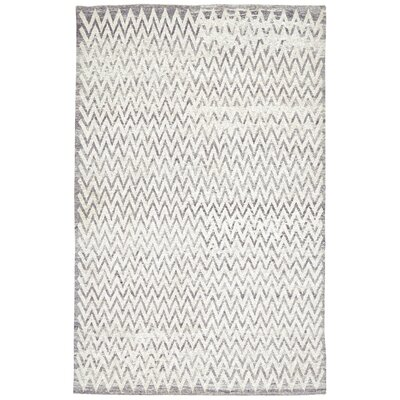 Bricker Hand-Woven Almond Area Rug Rug Size: 56 x 86