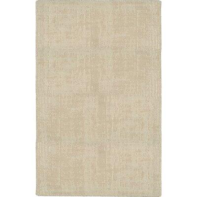 Adama Hand-Loomed Beige Area Rug Rug Size: 79 x 1010