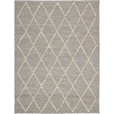 Mcwilliams Hand-Woven Jute Pewter Area Rug