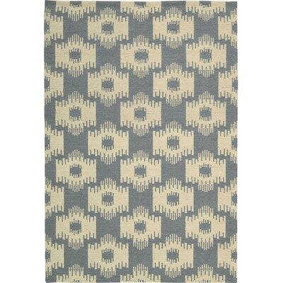 Biondi Handmade Slate Area Rug Rug Size: 53 x 75