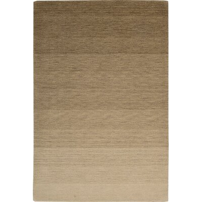 Fidel Handmade Smoke Sandstone Area Rug Rug Size: Rectangle 53 x 75